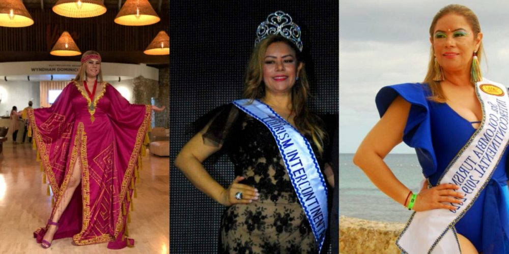 Colombia ganó la corona de Mrs. Tourism Intercontinental 2020 con la guajira Ethel Cerchiaro